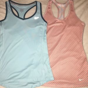 Bundle-Nike Dri-fit tank tops